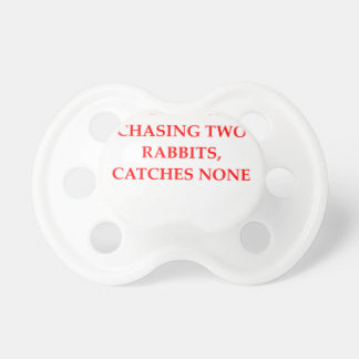 HUNTER PACIFIERS