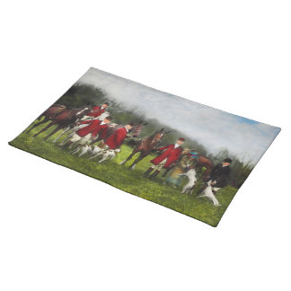 Hunter - The fox hunt - Tally-ho 1924 Placemat