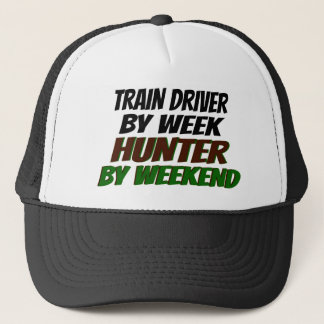 Hunter Train Driver Trucker Hat
