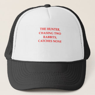 HUNTER TRUCKER HAT