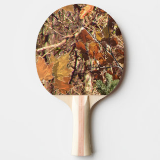 Hunter's Camouflage Painting Decor Ping-Pong Paddle