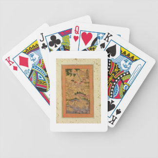 Hunters Capturing Elephants, from the Large Clive Bicycle Playing Cards