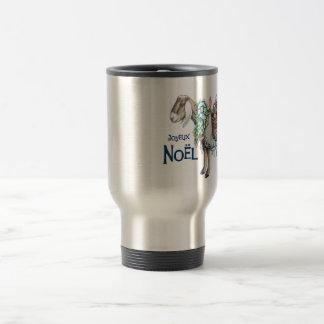 Hunter's Christmas Travel Mug in Stainless