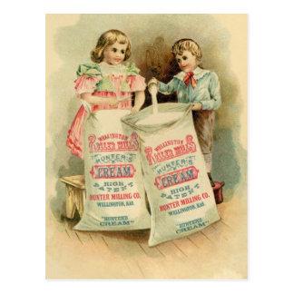 """Hunter's Cream"" Vintage Advertisement Postcard"