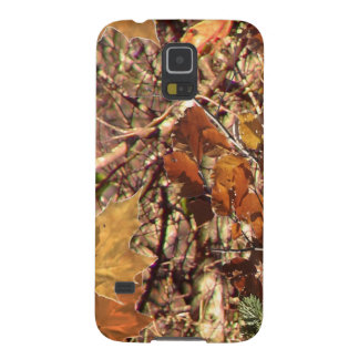Hunter's Fall Nature Camo Camouflage Painting Galaxy S5 Cases