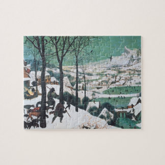 Hunters in the Snow by Bruegel Jigsaw Puzzle