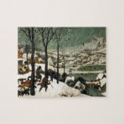 Hunters in the Snow by Pieter Bruegel the Elder Jigsaw Puzzle