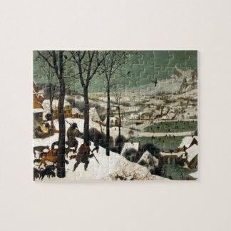 Hunters in the Snow by Pieter Bruegel the Elder Jigsaw Puzzle