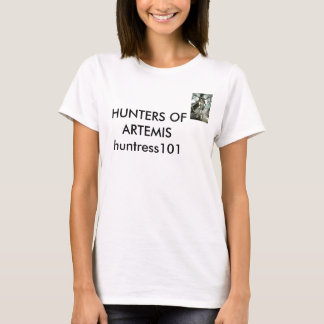 Hunters of Artemis-Huntress101 logo T-Shirt