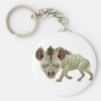 Huntin' Hyena Basic Round Button Keychain