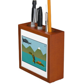 Hunting and Fishing Desk Organizer