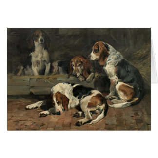 Hunting Beagles, Card