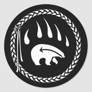 Hunting Bear NAHM Stickers