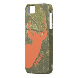 Hunting Camo & Deer Head iPhone 5 Case