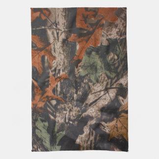 Hunting Camo Hunters Camouflage Kitchen Dish Towel