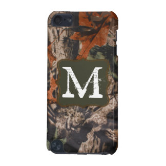 Hunting Camo Hunters Monogram Initial IPOD Touch iPod Touch (5th Generation) Cover