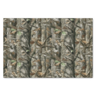 Hunting Camouflage Tissue Paper