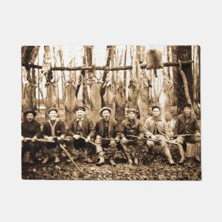 Hunting Camp Deep Woods Michigan Hunt Club Vintage Doormat