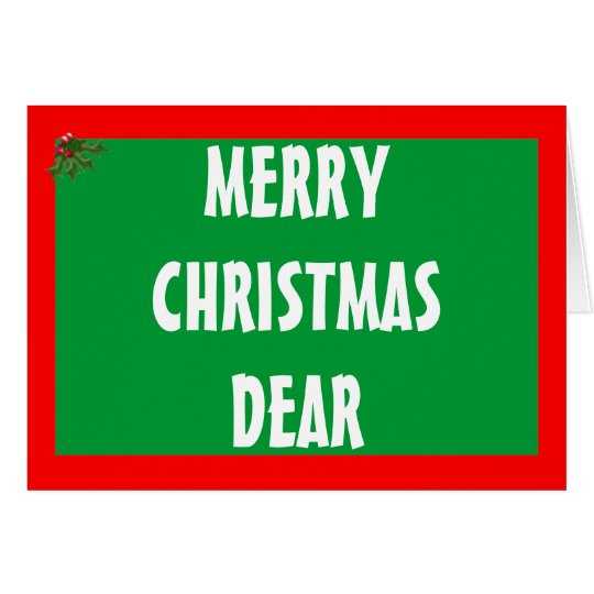 Hunting Christmas Card