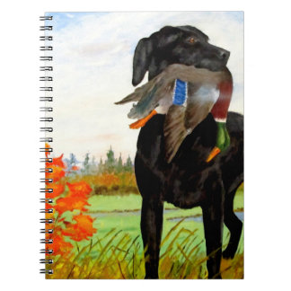 Hunting Dog Painting Notebook