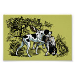 hunting dogs poster