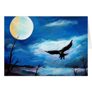 Hunting Hawk # 2 Card