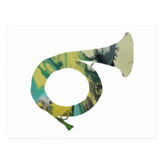 Hunting Horn Postcard