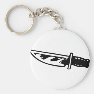 Hunting Knife Keychain