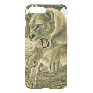 Hunting Lioness iPhone 7 Plus Case