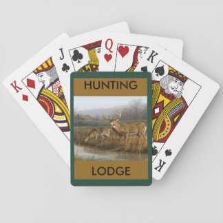 Hunting Lodge Playing Cards