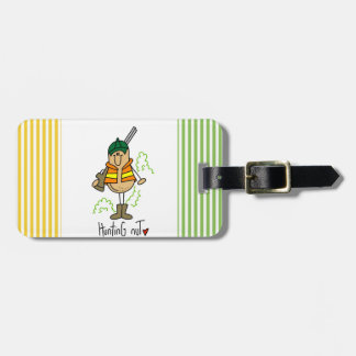 Hunting Nut T-shirts and Gifts Luggage Tag