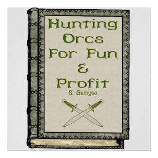 Hunting Orcs Poster