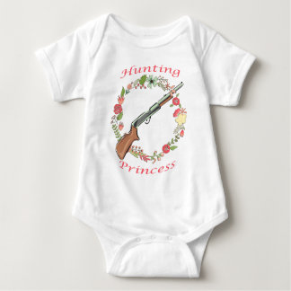 Hunting Princess Baby Bodysuit