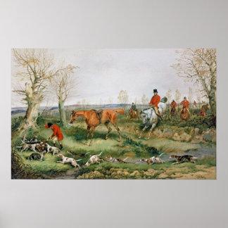 Hunting Scene 2 Poster