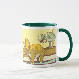 Hunting the Triceratops Mug