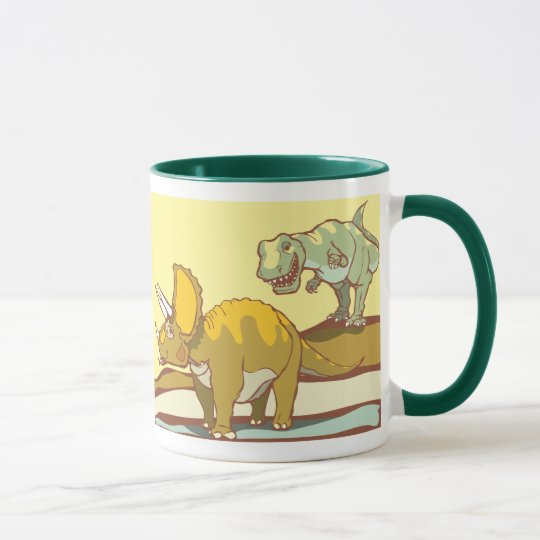Hunting the Triceratops Mug
