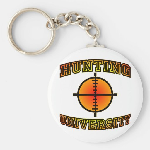 Hunting University Keychains