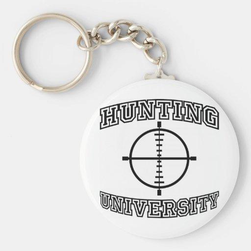 Hunting University Key Chain