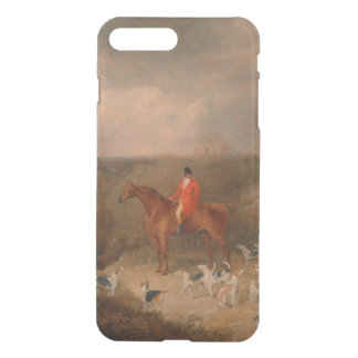 Hunting With Dogs and Horse Famous Oil Painting iPhone 7 Plus Case