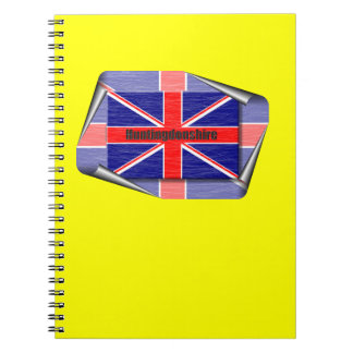 huntingdonshire spiral note book