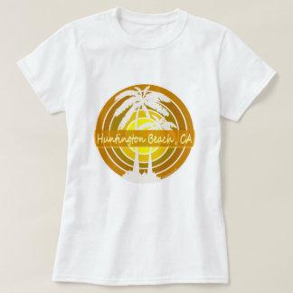 Huntington Beach, CA with Palm Trees T-Shirt