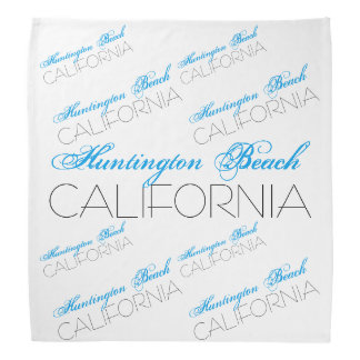 Huntington Beach CALIFORNIA Bandana