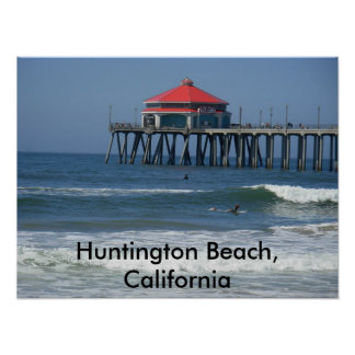 Huntington Beach, California Poster