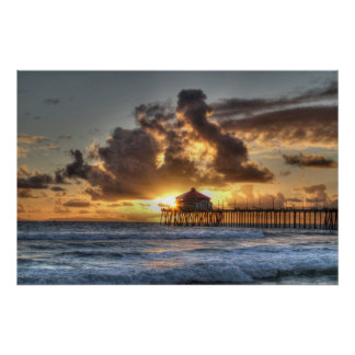 Huntington Beach California Poster