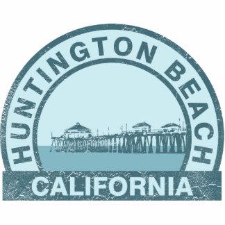 Huntington Beach, California Standing Photo Sculpture