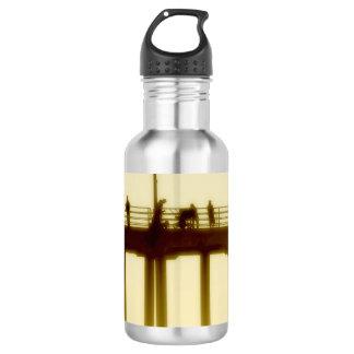 Huntington Beach Pier Beach Water Bottle