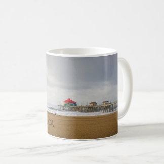 Huntington Beach Pier, CA Coffee Mug