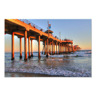 Huntington Beach Pier Photo Print