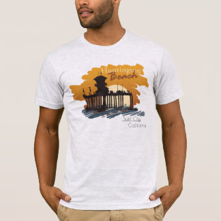 Huntington Beach Pier Sunset - Surf City Tee