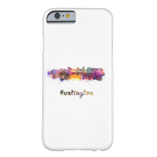 Huntington skyline in watercolor barely there iPhone 6 case